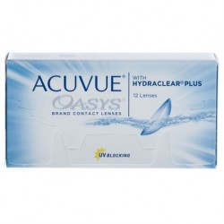 ACUVUE OASYS with HYDRACLEAR PLUS 12 szt.