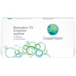 Biomedics 55 evolution (Mediflex 55™) 6 szt.