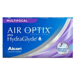 Air Optix plus Hydraglyde Multifocal 6 szt.